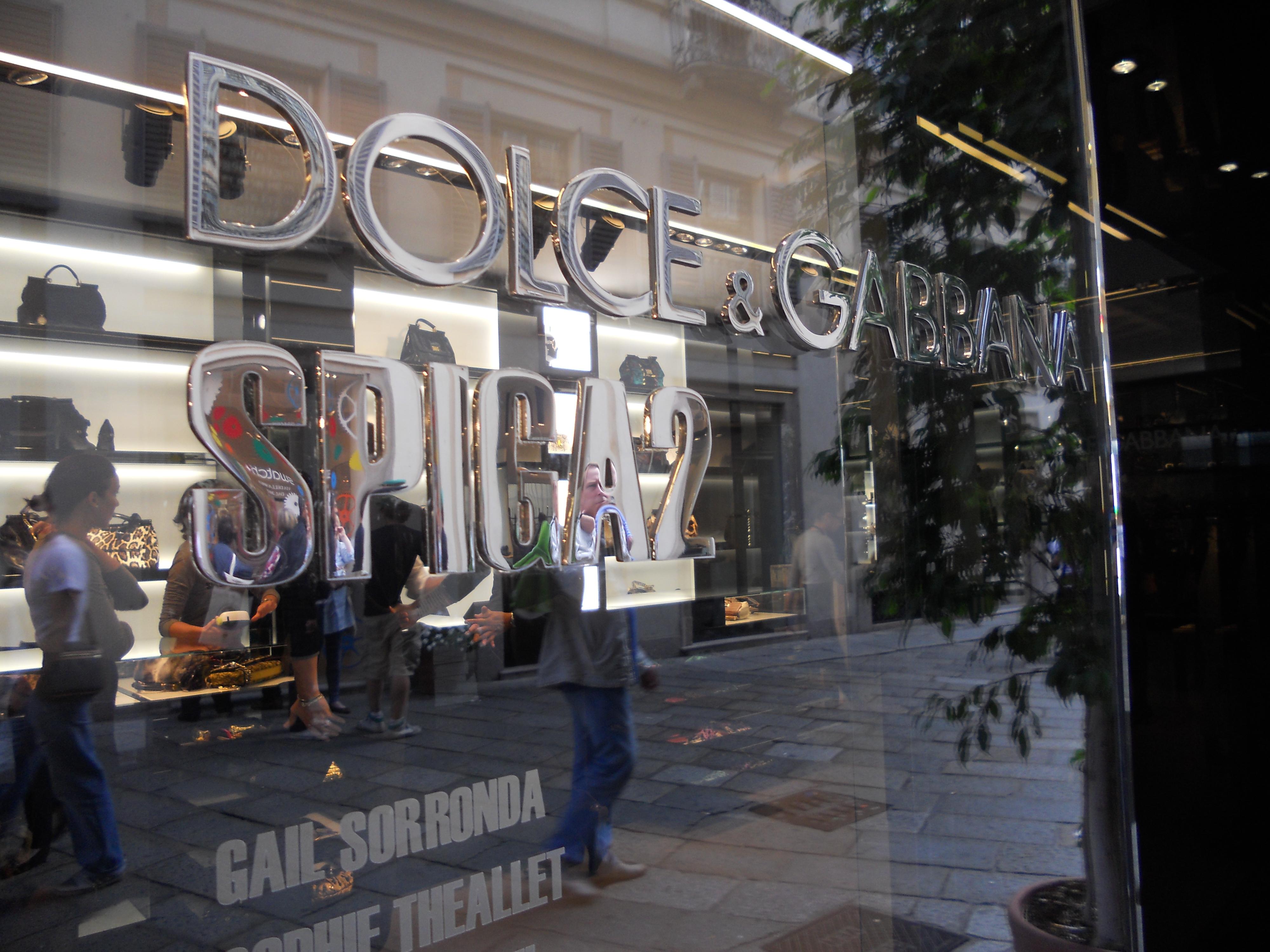 Spiga 2 by Dolce e Gabbana Opening  Via della Spiga 2118adc33d9e3