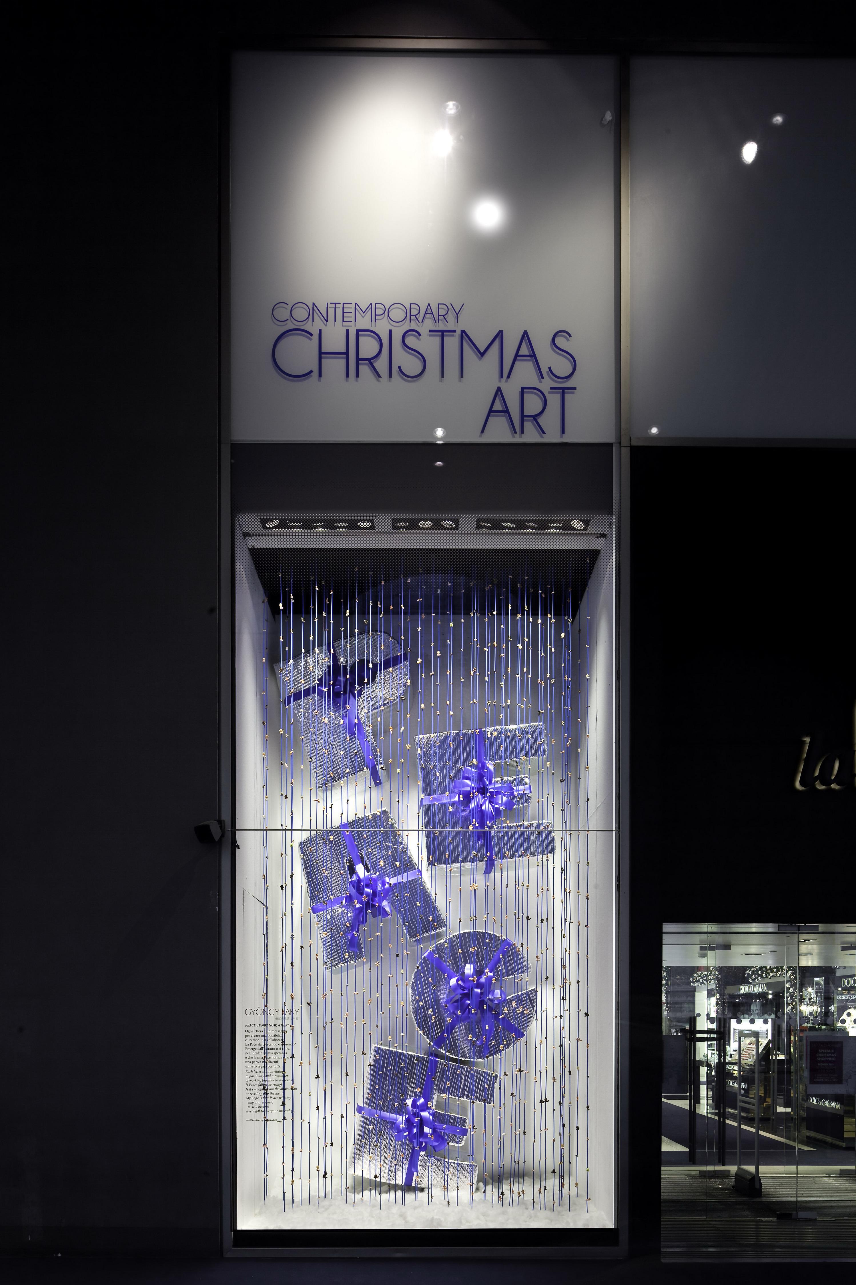 Le vetrine di la rinascente milano dedicate al natale for Carta rinascente