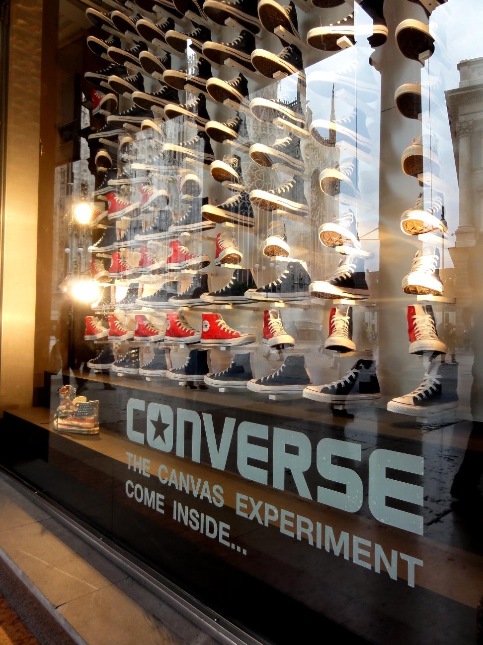 negozi scarpe converse milano
